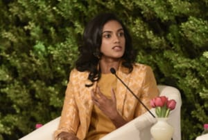 Saina Nehwal is a rival on court, a friend off it: PV Sindhu at HTLS 20...