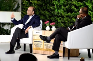Watch: Jaitley on SC verdicts, economy and Mahagathbandhan at HTLS 2018