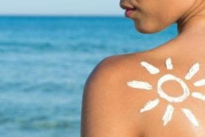 Your sunscreen protects you from harmful UV rays but may contain chemicals that can cause birth defects and infertility.