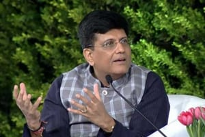 Railways overloaded to the point of breaking: Piyush Goyal at HTLS 2018
