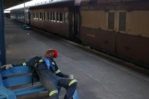 Photos: Zimbabwe's slow and dingy trains mirror economic decline