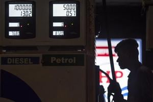 Petrol and diesel prices were cut by a minimum of Rs 2.50 on October 5 when the government's only second cut in excise duty of Rs 1.50 per litre and state-owned fuel retailers providing a Re 1 per litre subsidy came into effect.