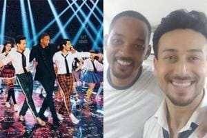 Will Smith danced to Radha from Student of the Year under Karan Johar's direction.