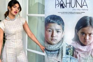 Pahuna The Little Visitors is one of the many films produced by Priyanka Chopra under the banner Purple Pebble Pictures.
