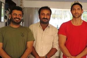 Hrithik Roshan has said a 'harsh stand' will be taken against Super 30 director Vikas Bahl (r).