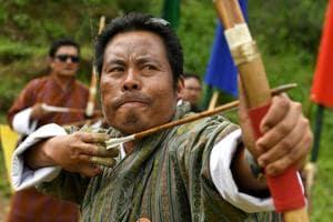 Photos: Living by the bow and arrow in Bhutan