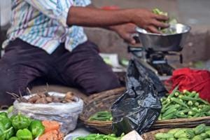 With the Ganesh fest over and Navaratri beckoning, customers will have to loosen their purse string as supply witnessed a sharp decline on Sunday, affecting inflows for the week ahead.
