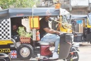 Will Smith spotted driving an auto in Mumbai