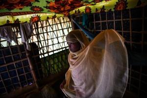 Photos: Madrassas a place of prayer and peace for Rohingya kids