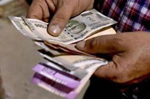 Unabated foreign fund outflows weighed on the rupee, traders said.