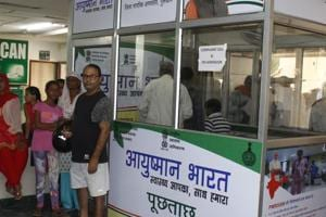 None of the 80,000 families in Gurugram registered under the Ayushman Bharat scheme have availed of the benefits so far.
