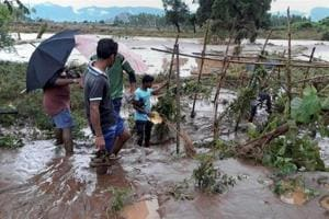 Officials said fishermen along the Odisha and Andhra Pradesh coasts have been advised not to venture into the sea and around 300 motor boats have been arranged to assist in rescue operation over a possible flood situation on October 10 and 11.