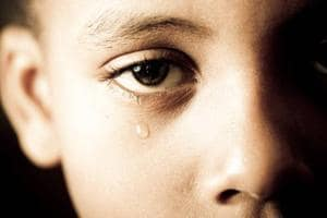 """A child starts to get stressed because of """"education pressure, parental conflicts, sexual violence or biological vulnerability."""