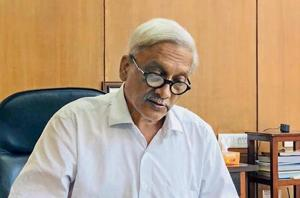 Goa chief minister Manohar parrikar has been in Delhi's AIIMSsince September 15 for the treatment of a pancreatic ailment.