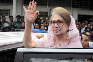 Former Bangladeshi PM Khaleda Zia's son was sentenced to life and 19 others were given death sentence by a court in Dhaka on Wednesday over the 2004 grenade attack that killed 24 people and injured 500 others, including Prime Minister Sheikh Hasina.