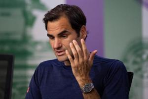 File picture of Roger Federer