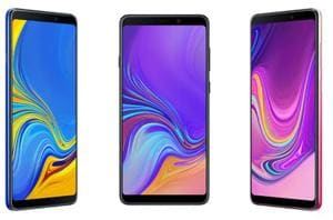 Samsung Galaxy A9 (2018) features a full HD+ Super AMOLED display.