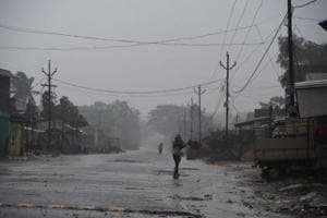 Indian Railways suspended trains bound for Srikakulam and the Andhra Pradesh State Road Transport Corporation also withdrew its bus services covering the cyclone-affected areas and power supply was shut down in the wake of warnings sounded by IMD.