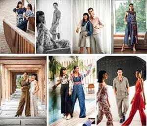 Jumpsuits that will take your style quotient a notch higher (Styling by Drishti Vij; Location courtesy: The Park, New Delhi; Art direction: Amit Malik; Make-up and hair: Pooja Gossain; Models: Ashika (Purple Thoughts), Urvi Milan, Hemant (Multitalents)and Rajat Bhasin)