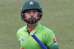 File image of Ahmed Shehzad in action for Pakistan.