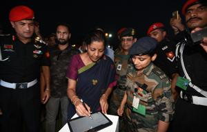 Nirmala Sitharaman is expected to visit Dassault's Rafale fighter jet manufacturing facility on Friday.