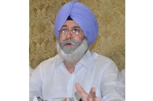 Aam Aadmi Party's (AAP) Dakha MLA Harvinder Singh Phoolka