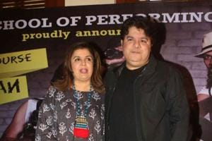 Farah Khan reacted to sexual harassment allegations against her brother Sajid Khan.