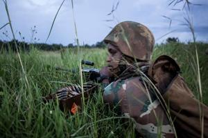Photos: Hunting an armed militia in DR Congo's 'triangle of death'