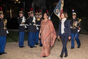 Defence minister Nirmala Sitharaman arrived in Paris on Thursday on a three-day visit in the midst of a massive controversy over the procurement of 36 Rafale jets under a Rs 58,000 crore government-to-government deal between India and France.