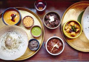 Hoppers has a menu that explores the continuum between the food of Kerala and the food of Sri Lanka