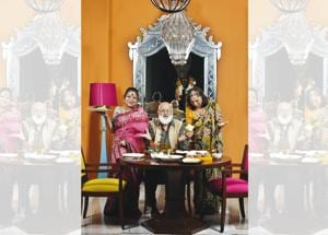 From Left: Food historians Pritha Sen, Dr Pushpesh Pant and Salma Husain have spent a lifetime studying Indian food