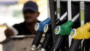 The highest diesel price in the state was recorded in Amravati