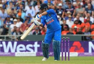 MS Dhoni has only played 22 days of international cricket this year.