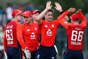 England won the the second ODI by 31 runs (DLS). Take 1-0 lead in the series