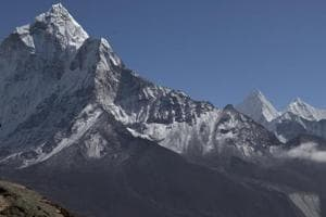 At least eight climbers from a South Korean expedition have died on Nepal's Mount Gurja after their camp was devastated by a violent snowstorm, officials said Saturday.