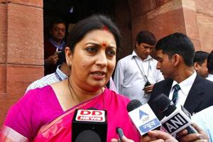 Amid the ongoing #MeToo campaign, Union minister Smriti Irani said in Indore on Friday that the country has very strict laws in place to protect women, who can approach police and the courts to get justice.