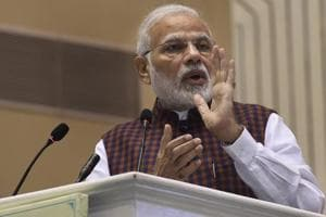 Prime Minister Narendra Modi is set to meet oil company chiefs in New Delhi on Monday.