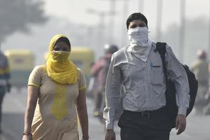Currently the air quality is in the poor category but authorities have predicted that it would reach the 'very poor' category in the next couple of days.