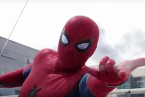 Spider-Man in a still from Captain America: Civil War.