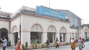 Dehradun Municipal Corporation office in Dehradun.