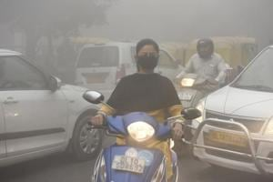Delhi's air quality has started dipping, though the air quality index hasn't touched 'very poor' or 'severe' levels yet.