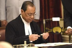 Justice Ranjan Gogoi after being appointed as the chief justice of India.  Justice NV Ramana, a Supreme Court judge, has cancelled a scheduled trip to Trinidad and Tobago this November following chief justice of India (CJI) Ranjan Gogoi's appeal  to not take leaves during working days.