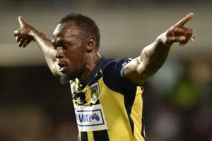 Usain Bolt is on trial with A-League side Central Coast Mariners, who are yet to offer him a contract.