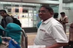 Two Congress MLAs Subhash Shirodkar (in pic) and Dayanand Sopte left for Delhi on Monday night