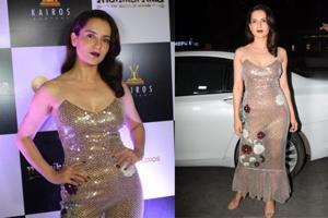 Kangana Ranaut had a blast at the Manikarnika The Queen of Jhansi wrap-up bash.