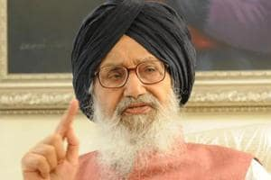 Former Punjab CM Parkash Singh Badal