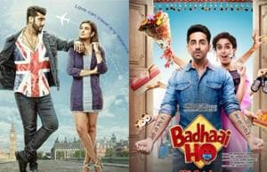 Namaste England and Badhaai Ho are now releasing on Dussehra