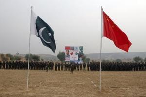 File photo of Pakistan and China