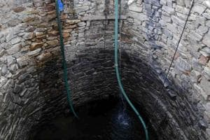 The woman reportedly threw the children into the well one after the other, before jumping in.