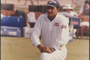 File photo of then Indian cricket captain Mohammed Azharuddin.